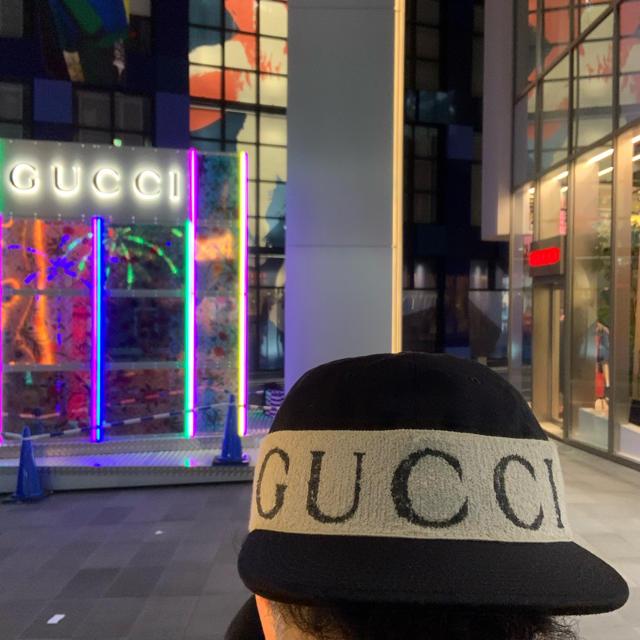 Gucci - gucci キャップ 帽子 100%本物の通販 by にゅーショップ