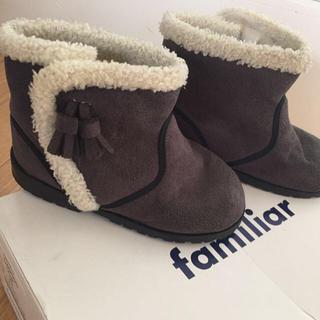 ファミリア(familiar)のファミリアブーツ15.0(ブーツ)