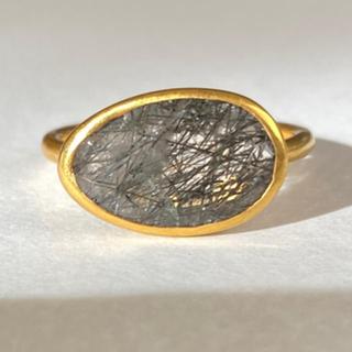ブラックルチルk9ゴールドリング検索マリーエレーヌ ジェムパレス(リング(指輪))