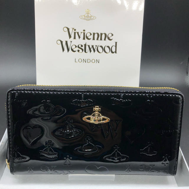 Vivienne Westwood - �新�・正��】ヴィヴィアン ウエストウッド 長財布 310 黒 プレゼント�通販 by NY's shop