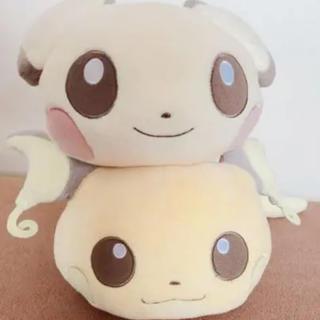 ポケモン(ポケモン)のねそべり  ピチュー&ライチュウ ポケモン ぬいぐるみ セット(ぬいぐるみ/人形)