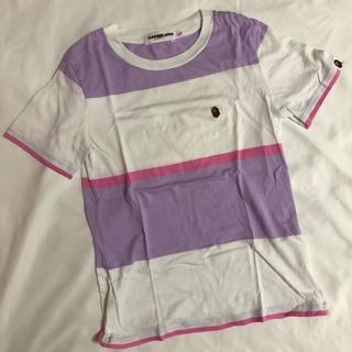 アベイシングエイプ(A BATHING APE)のA BATHING APE ロゴTシャツ(Tシャツ(半袖/袖なし))