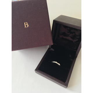 ブシュロン(BOUCHERON)の(1月末まで)ブシュロン ファセット 1Pダイヤ Pt950 #48(リング(指輪))