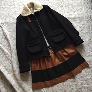 ルカ(LUCA)のMADAME A PARIS レザースカート(ミニスカート)