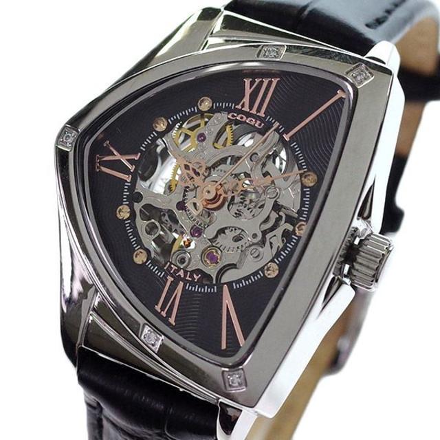 スーパーコピー 時計 グッチメンズ | コグ 腕時計 レディース BS01T BRG 自動巻き ブラック 国内正規の通販 by みらいえ関西@こうちん