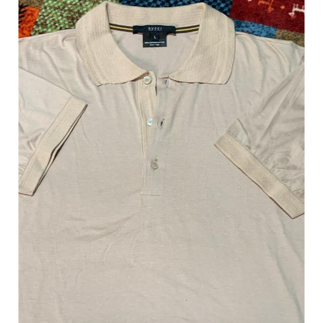 free アクセサリー / Gucci - グッチ メンズポロシャツ Lサイズ の通販 by くままま's shop