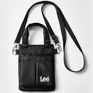 リー(Lee)の【smart 2019年12月付録】Lee ヘルメットバッグ型 ミニショルダーC(ショルダーバッグ)