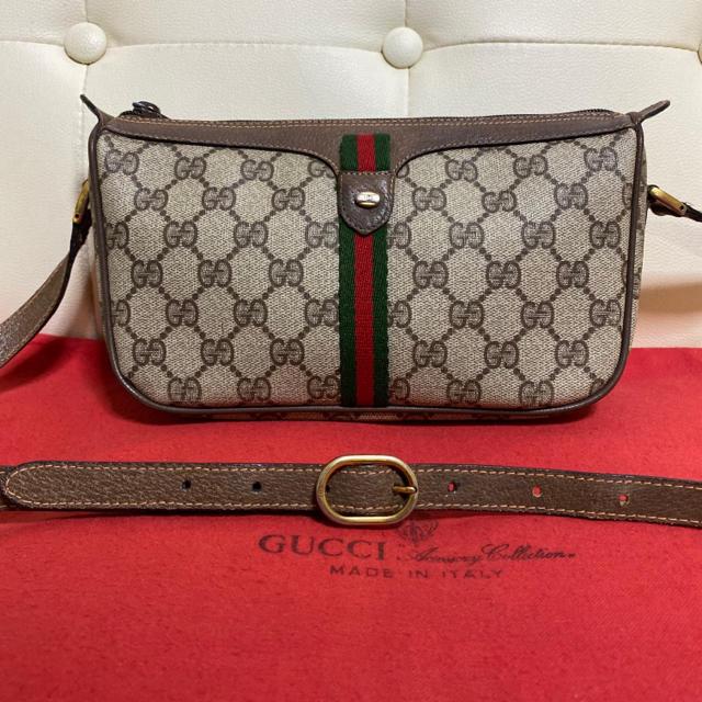 カルティエ パシャ 時計 、 Gucci - 可愛い 人気 GUCCI オールドグッチ シェリーライン ショルダー バッグの通販 by Safari