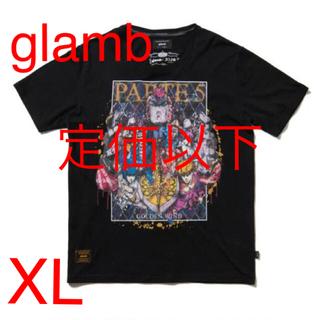グラム(glamb)のglamb × JOJO / グラム : Golden Wind T XL 黒(Tシャツ/カットソー(半袖/袖なし))