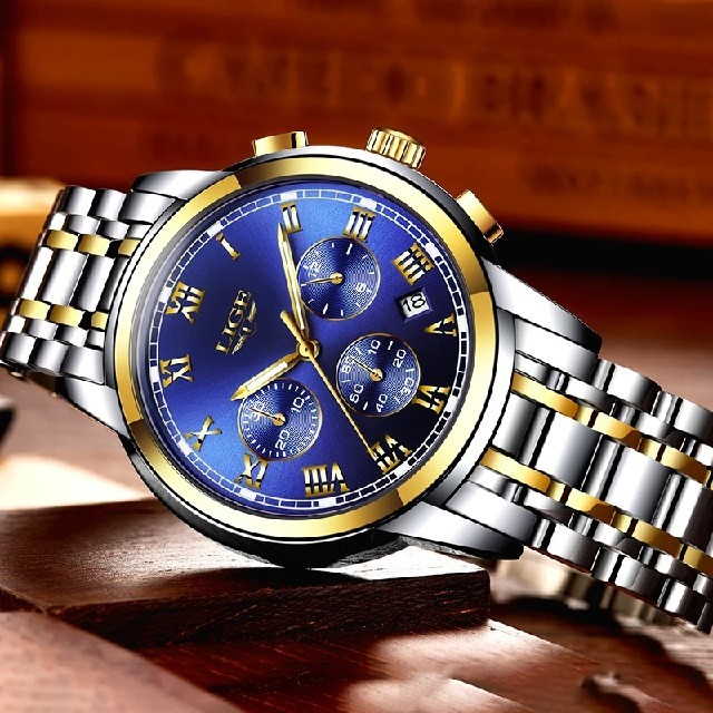 カルティエ偽物箱 / 値下げセール‼️残りわずか‼️早い者勝ち‼️LIGE高級クロノグラフ腕時計の通販 by ヨシハラ's shop