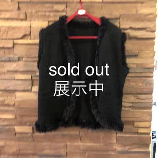 ファー付きベスト sold out(ベスト/ジレ)