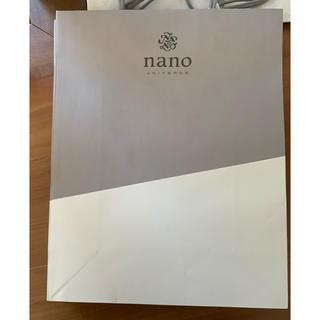 ナノユニバース(nano・universe)のnano・universe ナノユニバース ショップ袋 ショッパー 5枚(ショップ袋)