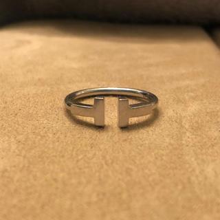 ティファニー(Tiffany & Co.)のティファニー Tワイヤーリング ホワイトゴールド(リング(指輪))
