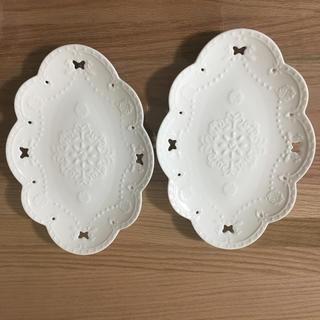 ハナエモリ(HANAE MORI)のハナエモリ ケーキ皿2枚組(食器)