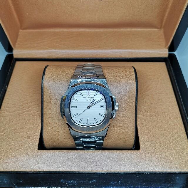 ジン コピー 制作精巧 / PATEK PHILIPPE 腕時計 自動巻き ダブルバックルの通販 by 竹ちょ's shop