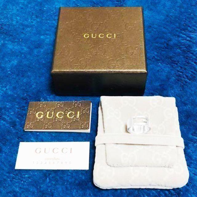 Gucci - ☆新品☆未使用☆Gucci グッチ ブランテッドGリング11号の通販 by mimi's shop