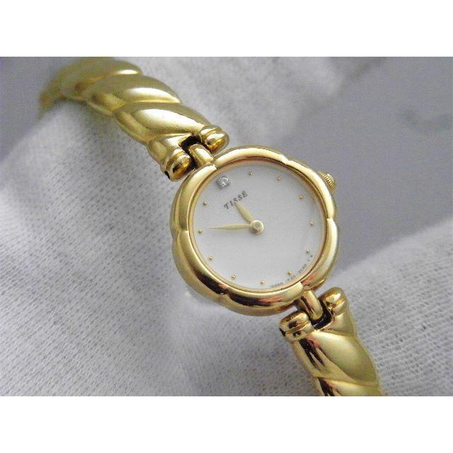 時計 偽物 品質 5m / SEIKO - SEIKO TISSE バングル 腕時計 ゴールド の通販 by Arouse 's shop