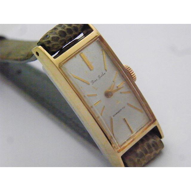シャネル スリッポン スーパーコピー 時計 | SEIKO - Fine Seiko 手巻き腕時計 ゴールド レクタンギュラー 角型 17Jの通販 by Arouse 's shop