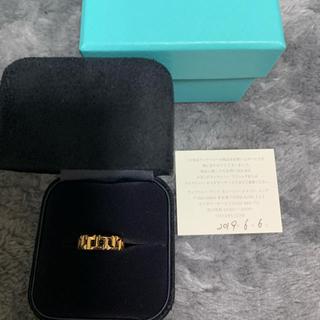 ティファニー(Tiffany & Co.)のティファニー  トゥルーワイドリング ピンクゴールド リング(リング(指輪))