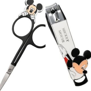 ディズニー(Disney)のMickey Mouse Disneyまゆ用はさみ&爪切り(爪切り)