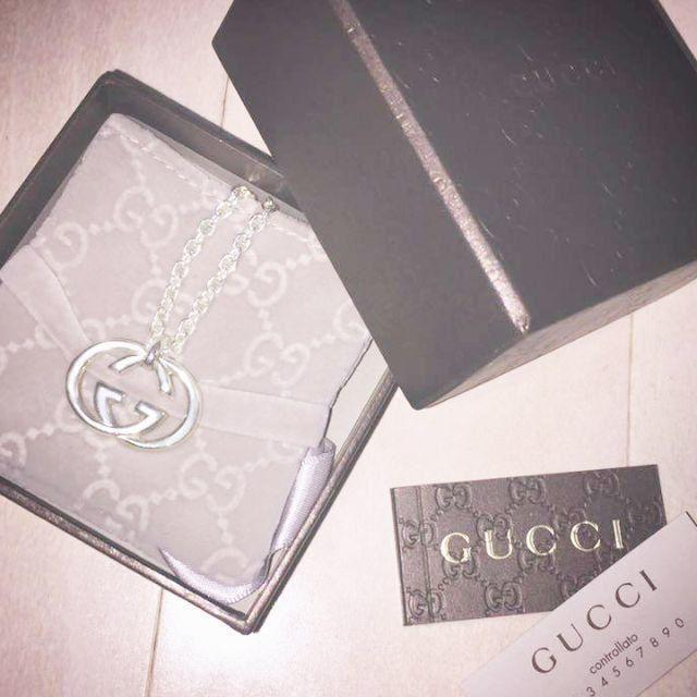 Gucci - ☆新品☆未使用☆Gucci グッチ GGロゴモチーフネックレスの通販 by mimi's shop