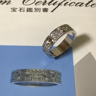 カルティエ(Cartier)のカルティエ  ラブリング yg 58(リング(指輪))