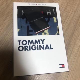 TOMMY HILFIGER - トミー ボクサーパンツ メンズ Lサイズ ネイビー TOMMY HILFIGER
