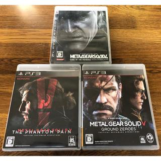 プレイステーション3(PlayStation3)のメタルギアソリッドまとめ ps3 (家庭用ゲームソフト)