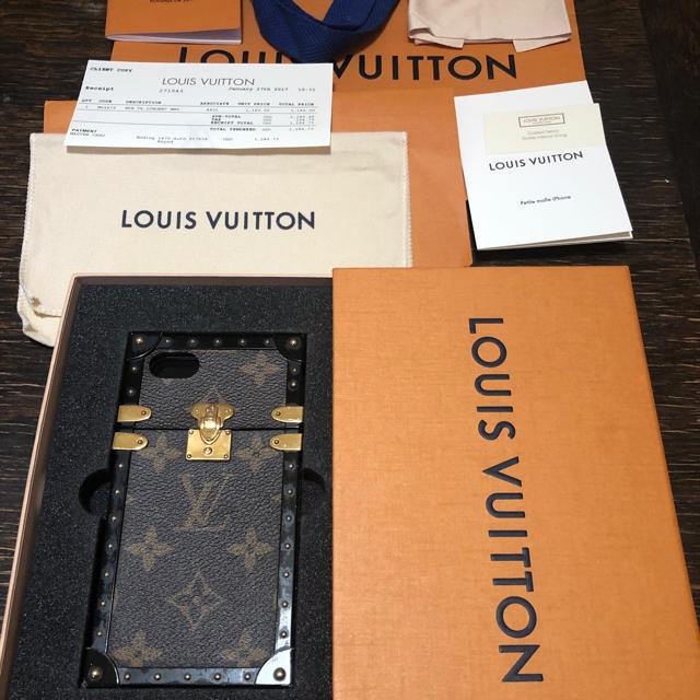 LOUIS VUITTON - iPhone7,8ケース ルイヴィトン アイトランクの通販