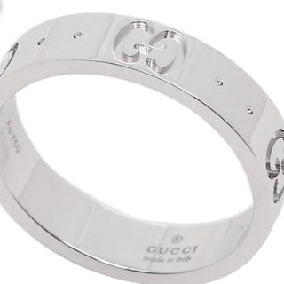 グッチ(Gucci)のGUCCI グッチ GGアイコンスィンバンドリング 指輪 正規品 新品未使用品(リング(指輪))