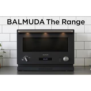 バルミューダ(BALMUDA)のBALMUDA The Range(ブラック)(電子レンジ)