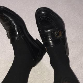 サンローラン(Saint Laurent)のイヴサンローラン ローファー 革靴(ドレス/ビジネス)