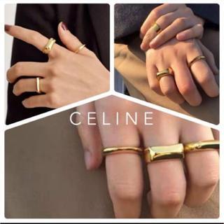 エンフォルド(ENFOLD)のCELINE  セリーヌ チェーン トリオンフ ディアマンテ リング (リング(指輪))