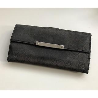 Gucci - 正規品 GUCCI グッチ Wホック 長財布の通販