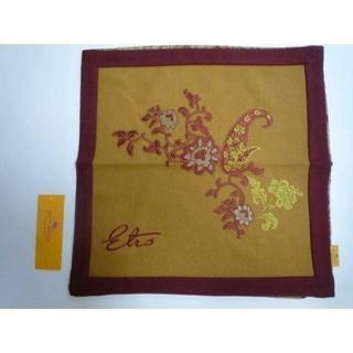 ETRO - 新品  エトロ(西川産業) ウールの豪華刺繍クッションカバー 18700円