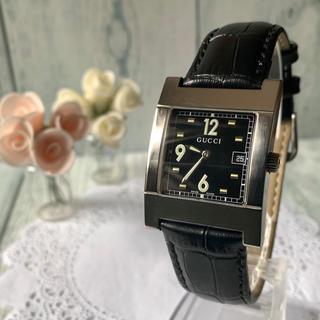 louis vuitton 時計 偽物わからない - Gucci - 【希少】GUCCI グッチ 7700M 腕時計 ブラック シルバーの通販