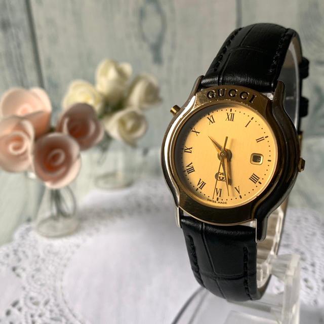 コピーブランド グッチ / Gucci - 【希少】GUCCI グッチ 8200JR GMT 腕時計 シルバー ゴールドの通販 by soga's shop