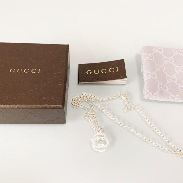 Gucci - ☆新品☆未使用☆Gucci グッチ GGロゴモチーフラウンドネックレスの通販 by mimi's shop