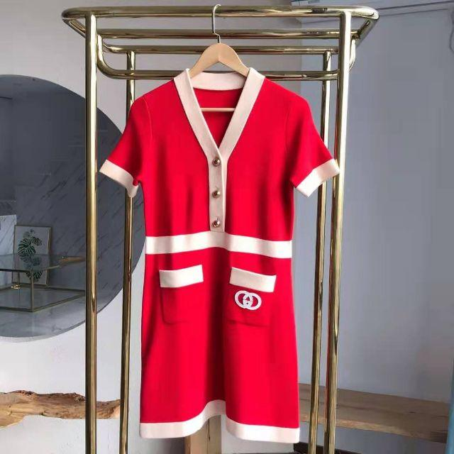 カルティエ コピー 韓国 / Gucci - GUCCI 20Cruise 新作 インターロッキングG ドレスの通販 by あいさい's shop