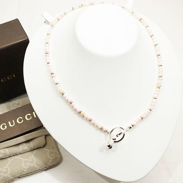 Gucci - ☆新品☆未使用☆Gucci グッチ リボンチャーム ネックレスの通販 by mimi's shop