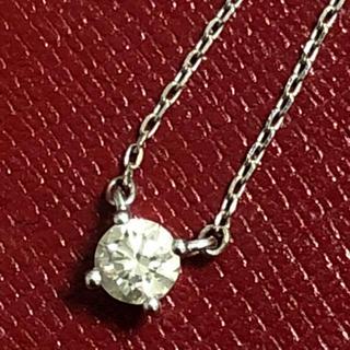カナルヨンドシー(canal4℃)のcanal4°C ネックレス ダイヤモンド k18wg ペンダント ヨンドシー(ネックレス)