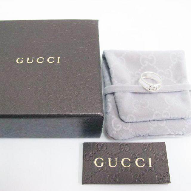 Gucci - ☆新品☆未使用☆Gucci グッチ インターロッキング Gリング15号の通販 by mimi's shop