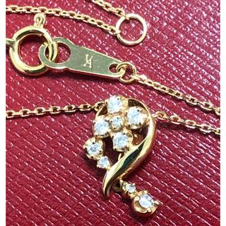 ヴァンドームアオヤマ(Vendome Aoyama)のヴァンドーム青山 vendome k18 ダイヤモンドネックレス ペンダント(ネックレス)