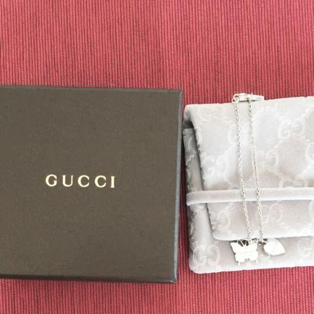 Gucci - ☆新品☆未使用☆Gucci グッチ バタフライ&ハートモチーフブレスレットの通販 by mimi's shop