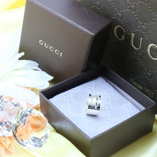 Gucci - ☆新品☆未使用☆Gucci グッチ ブランデッドオープンGリング11号の通販 by mimi's shop