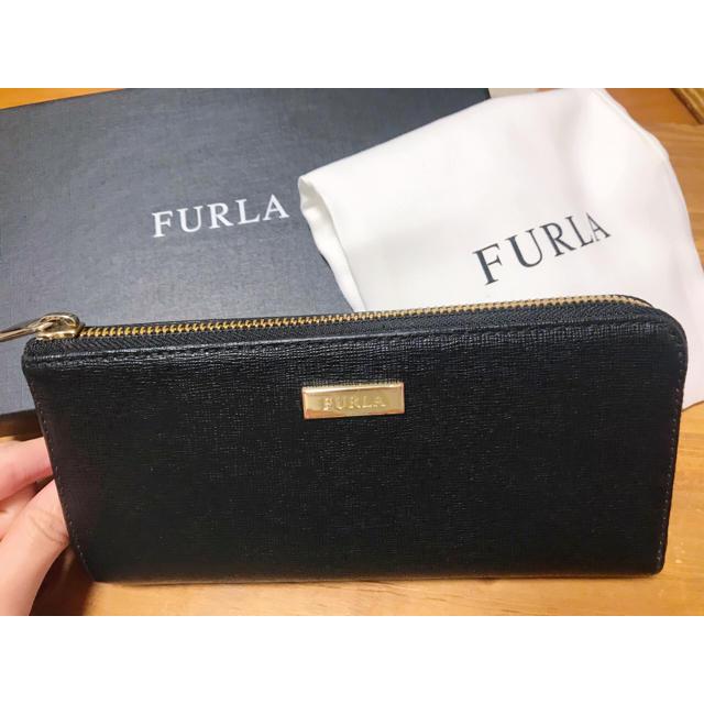 Furla - FURLA 黒 長財布の通販 by ayaka's shop