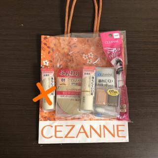 セザンヌケショウヒン(CEZANNE(セザンヌ化粧品))の新品未使用 セザンヌ 福袋 2020 ラッキーバック(その他)