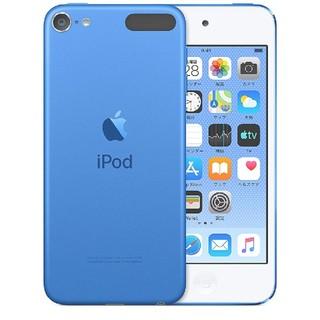 アップル(Apple)のipodtouch 第7世代 32GB ブルー(スマートフォン本体)