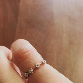 ポンテヴェキオ(PonteVecchio)の美品 ポンテヴェキオ  ダイヤフラワーリング(リング(指輪))