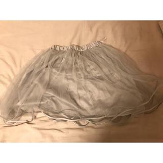 ティティアンドコー(titty&co)のtitty&Co. チュールスカート(ひざ丈スカート)
